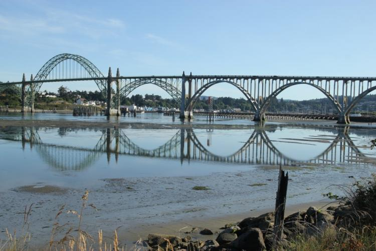 Yaquina Bay estuary