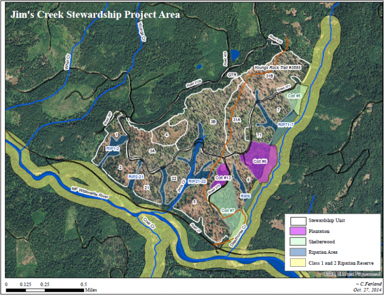 Success Story - Jim's Creek Stewardship Project Area