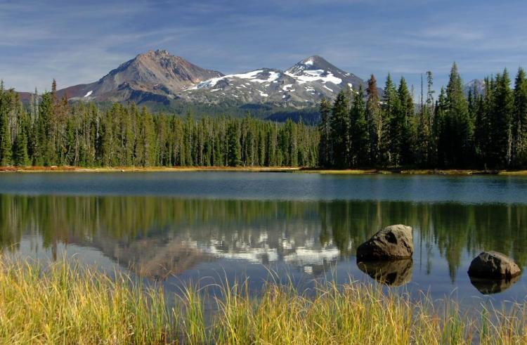 Scott Lake is an example of the Oregon Conservation Strategy Natural Lakes Strategy Habitat.