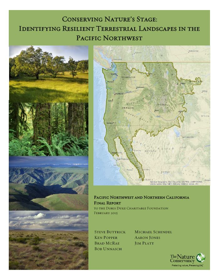 PNW Resilience Report 2015 Cover